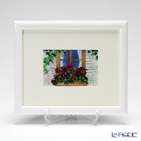 京七宝額(アートSHIPPO) 窓辺 額ホワイト 23.5×28.5cm