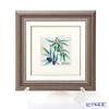 Enamel Cloisonne (Kyoto Shippo Art) Olive 25x25cm