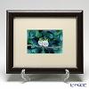 Enamel Cloisonne Two Japanese White-eye 24.5 x 29.5 cm