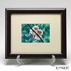 Enamel Cloisonne / Kyoto Shippo Art 'Two Birds - Owl' Panel / Plaque 29.5x24.5cm