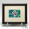 Enamel Cloisonne (Kyoto Shippo Art) Two Birds - Owl 24.5x29.5cm