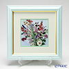 Enamel Cloisonne Flower in Summer 29.5 x 29.5 cm