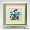Enamel Cloisonne (Kyoto Shippo Art) Wild Rose 29x29cm