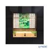 Enamel Cloisonne / Kyoto Shippo Art 'Kyoto Genko-an Mayoi no mado / Green Leaves' Panel / Plaque 24.5x24.5cm