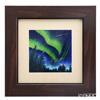 Enamel Cloisonne / Kyoto Shippo Art 'Aurora Night Sky' Panel / Plaque 33.8x33.8cm