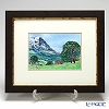 Enamel Cloisonne (Kyoto Shippo Art) Grindelwald 34x41cm