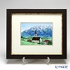 Enamel Cloisonne Mountain of Tyrol 34 x 41 cm