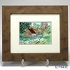 Enamel Cloisonne / Kyoto Shippo Art 'Cotswolds' Panel / Plaque 45x38cm