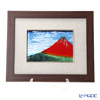 Enamel Cloisonne (art SHIPPO) North Osaka South wind clouds amount 34 x 41 cm hemp mat