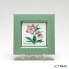 Enamel Cloisonne / Kyoto Shippo Art 'Herbal Collection - Christmas Rose' Panel / Plaque 17x17cm