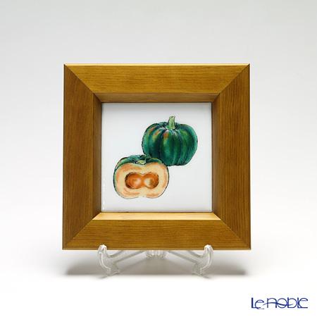 京七宝額(アートSHIPPO) ベジタブル カボチャ 額ナチュラル 16.8×16.8cm