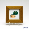 Enamel Cloisonne Vegetable, Pumpkin 16.8 x 16.8 cm