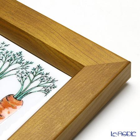 Enamel Cloisonne Vegetable, Carrot 16.8 x 16.8 cm