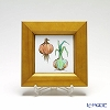 Enamel Cloisonne / Kyoto Shippo Art 'Vegetable Collection - Onion' Panel / Plaque 17x17cm