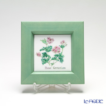 Enamel Cloisonne (Kyoto Shippo Art) Herbal Collection - Rose Geranium 16.8x16.8cm
