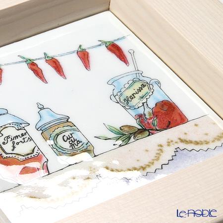 Enamel Cloisonne Kitchen, Jam 16.8 x 16.8 cm