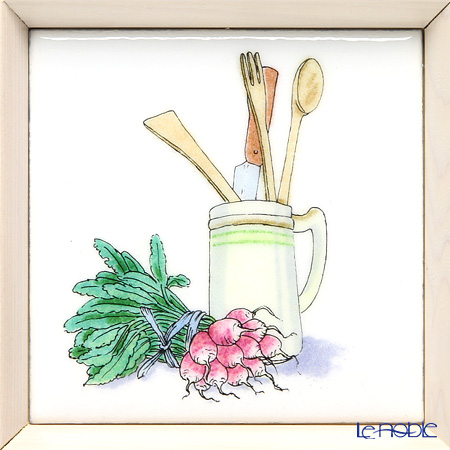 Enamel Cloisonne Kitchen, Kitchen tools 16.8 x 16.8 cm