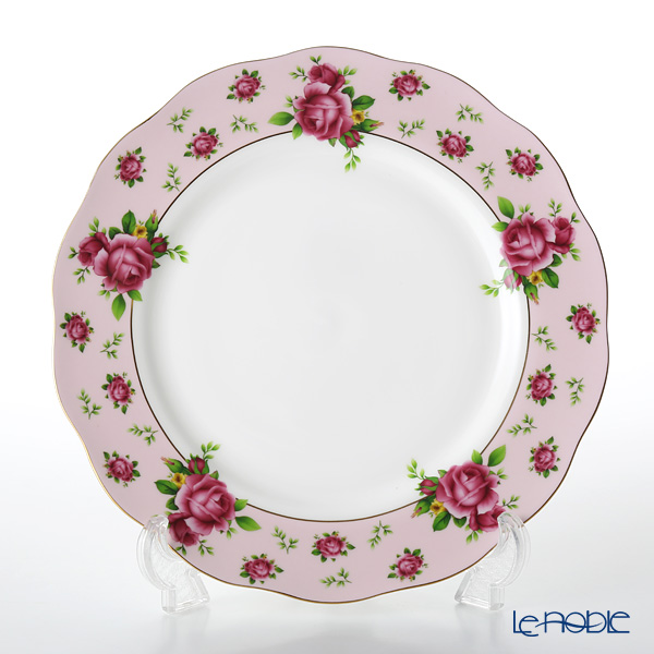 Royal Albert New Country Roses Pink Vintage Plate 27cm