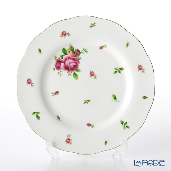 Royal Albert New Country Roses White Vintage Plate 20cm