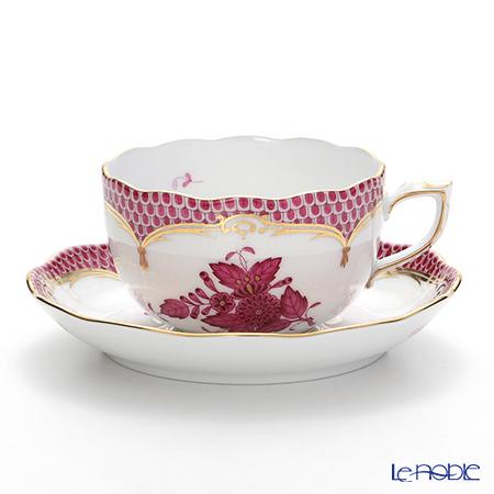 ヘレンド アポニーピンク ピンクスケール 00724-0-00 ティーカップ&ソーサー 200cc