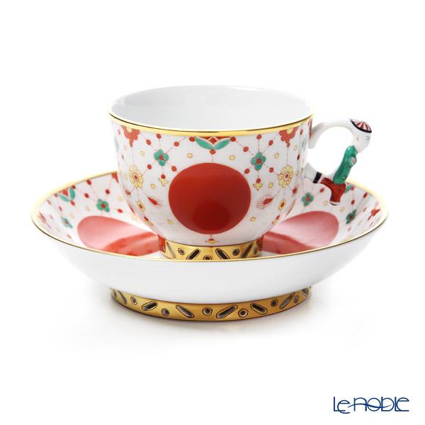 ヘレンド シノワズリ (中国趣味) FBI 宝石の房飾り 03364-0-21 ラージカップ&ソーサー