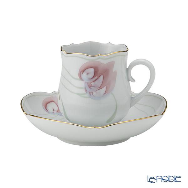 マイセン(Meissen) 風の花 660410/23582 コーヒーカップ&ソーサー 150cc