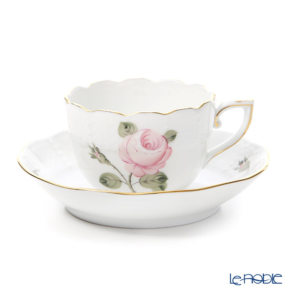 Herend 'Vienna Rose Gold' VGR 00711-0-00 Mocha Coffee Cup & Saucer