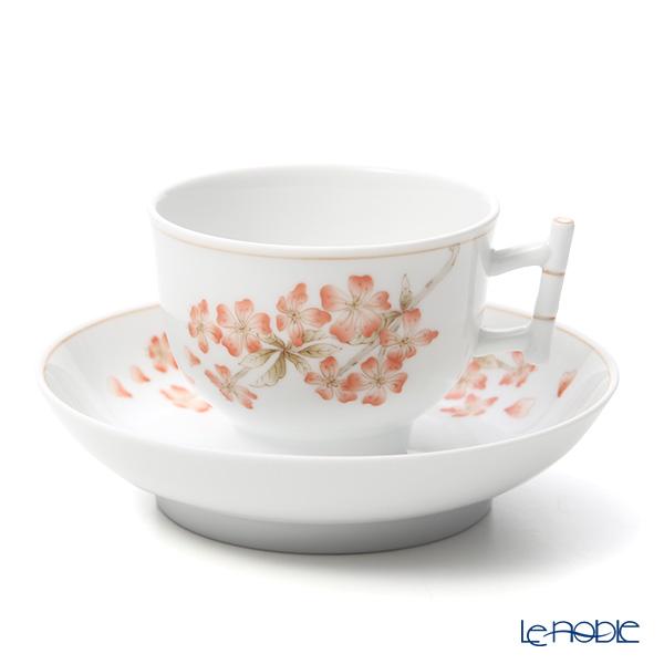 ヘレンド 桜 CERIG 03464-0-91 ティーカップ&ソーサー(バンブー) 150cc