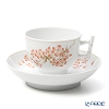 Herend 'Cherry Blossom' CERIG 03464-0-91 Tea Cup & Saucer (Bamboo handle) 150ml