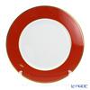Augarten (AUGARTEN) red (2825 F) Gold rims (fine). Charger plate 28 cm (001 Schubert shape)