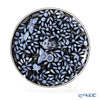 Herend 'Zoo Garden Black & Blue Platinum / Jardin Zoologique' ZOBA-FN-PT 02538-0-00 Plate 21.5cm