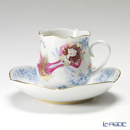 マイセン(Meissen) ミッドサマー・ナイトドリーム 680691/23582 コーヒーカップ&ソーサー 150cc Motiv No.7