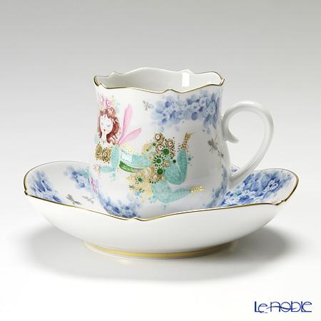 マイセン(Meissen) ミッドサマー・ナイトドリーム 680691/23582 コーヒーカップ&ソーサー 150cc Motiv No.8