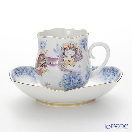 マイセン(Meissen) ミッドサマー・ナイトドリーム 680691/23582 コーヒーカップ&ソーサー 150cc Motiv No.11