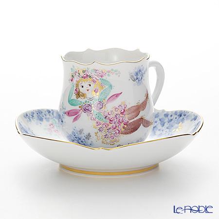 マイセン(Meissen) ミッドサマー・ナイトドリーム 680691/23582 コーヒーカップ&ソーサー 150cc Motiv No.12
