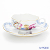 And the Meissen (Meissen) Midsummer night dream 680691 / 23633 Tea Cup & Saucer (150cc)number10