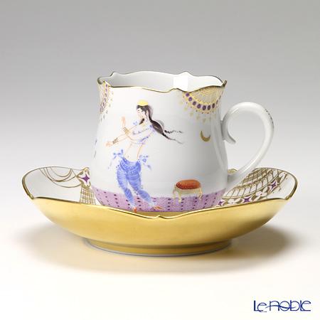 マイセン(Meissen) アラビアンナイト 680710/23582 コーヒーカップ&ソーサー 150cc Motiv No.2