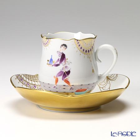 マイセン(Meissen) アラビアンナイト 680710/23582 コーヒーカップ&ソーサー 150cc Motiv No.3