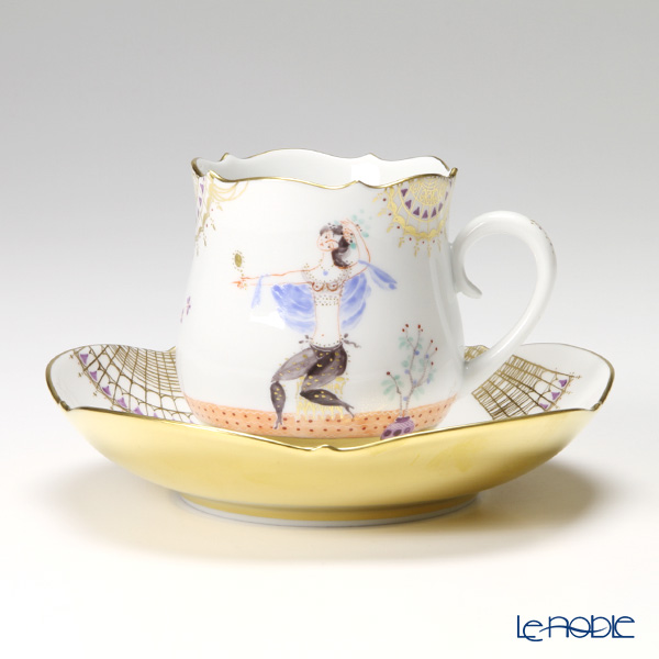 Meissen Arabian Nights 680710 / 23582 Coffee Cup & saucer 150 cc Motiv 6