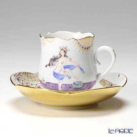 マイセン(Meissen) アラビアンナイト 680710/23582 コーヒーカップ&ソーサー 150cc Motiv No.10