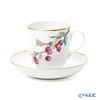 Herend '4 Seasons - Summer (Cherry)'' QSA2 02725-0-00 Coffee Cup & Saucer 320ml