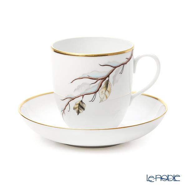 ヘレンド 4 Seasons ウインター QUSA4 02725-0-00 コーヒーカップ&ソーサー 320ml
