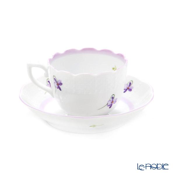 ヘレンド バイオレット(ライラック) VIOLETLモカカップ&ソーサー 100cc 00711-0-00