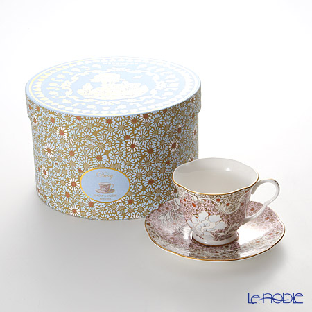 Wedgwood Daisy Tea Story Teacup and Saucer Pink