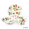 Wedgwood Wild Strawberry Petit Bowl, Plate, Mug (set of 3pcs)