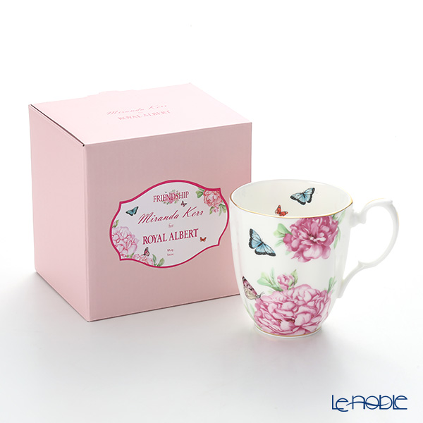 Royal Albert x Miranda Kerr 'Friendship' White Vintage Mug 400ml