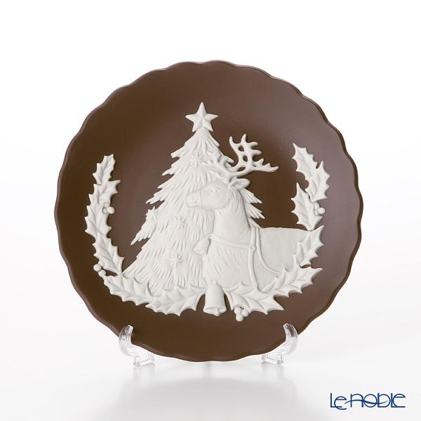 ウェッジウッド(Wedgwood) ジャスパー フェスティバルトレイ クリスマス 12.5cm