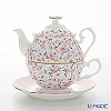 Royal Albert 'Rose Confetti' White & Pink Tea For One