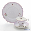 Royal Albert 'Candy - Love' Lilac Tea Cup & Saucer, Plate (set of 2 for 1 person)