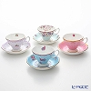 Royal Albert Candy Teacups & Saucers (Set Of 4)